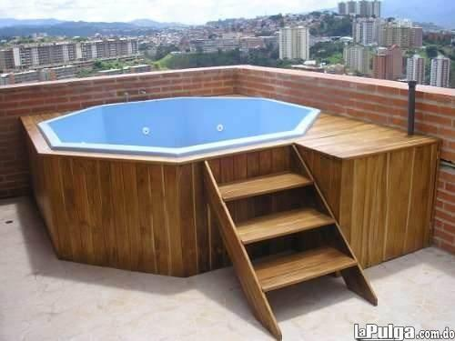 Jacuzzi octagonal para 8 persona 240x240 cm 14total jets for Jacuzzi 8 personas